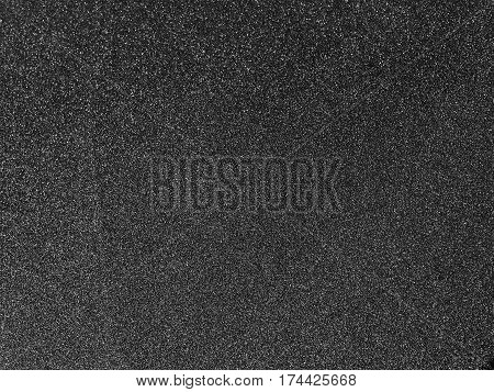 Black Abrasive Paper Texture Background