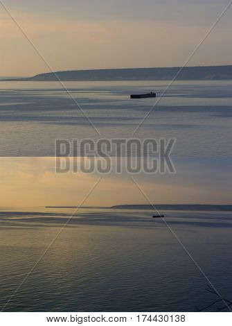 Barge On The Horizont