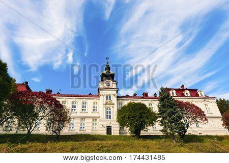 St. Elisabeth Hospital in Cieszyn. Cieszyn Slaskie Poland.