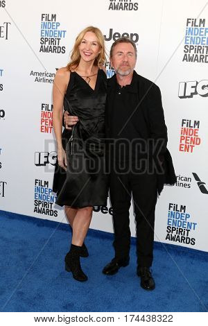 LOS ANGELES - FEB 25:  Nikki Butler, Tim Roth at the 32nd Annual Film Independent Spirit Awards at Beach on February 25, 2017 in Santa Monica, CA