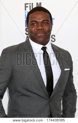 LOS ANGELES - FEB 25:  Sam Richardson at the 32nd Annual Film Independent Spirit Awards at Beach on February 25, 2017 in Santa Monica, CA