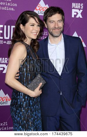 LOS ANGELES - MAR 1:  Katie Aselton, Mark Duplass at the