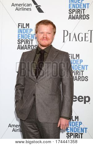 LOS ANGELES - FEB 25:  Jesse Plemons at the 32nd Annual Film Independent Spirit Awards at Beach on February 25, 2017 in Santa Monica, CA