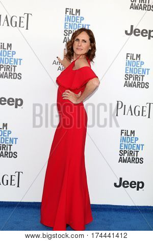 LOS ANGELES - FEB 25:  Molly Shannon at the 32nd Annual Film Independent Spirit Awards at Beach on February 25, 2017 in Santa Monica, CA