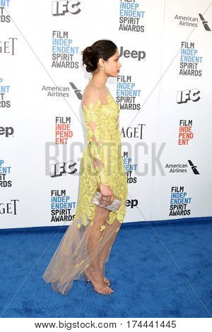 LOS ANGELES - FEB 25:  Freida Pinto at the 32nd Annual Film Independent Spirit Awards at Beach on February 25, 2017 in Santa Monica, CA