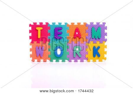Toy Team Work