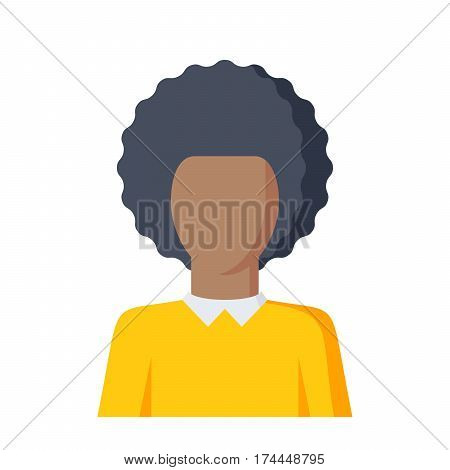 Student vector illustraton in flat style on white background