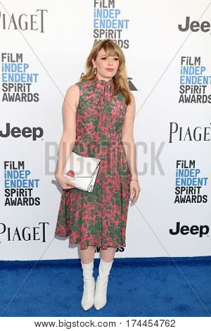LOS ANGELES - FEB 25:  Natasha Lyonne at the 32nd Annual Film Independent Spirit Awards at Beach on February 25, 2017 in Santa Monica, CA