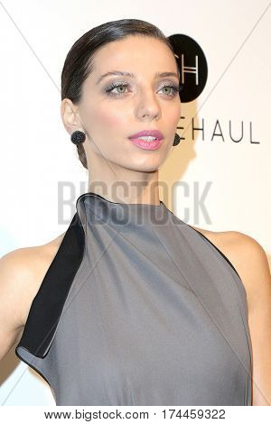 LOS ANGELES - FEB 26:  Angela Sarafyan at the 25the Annual Elton John Academy Awards Viewing Party at the  City of West Hollywood Park on February 26, 2017 in West Hollywood, CA