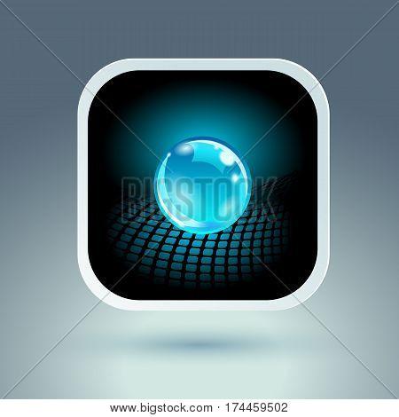 Conceptual Hi-Tech Design. Vector eps 10 Illustraton