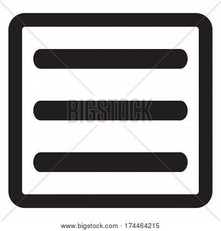 Expand menu button menu icon button web vector drop down