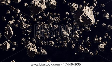 Inside The Asteroid Belt