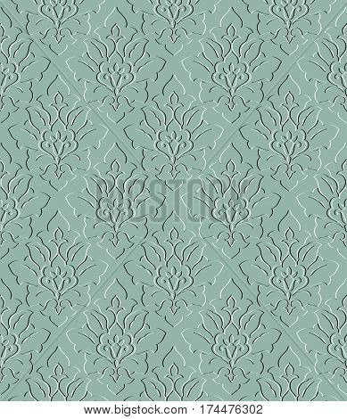 textured decorative ornament on a blue background