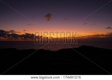 Sunset At Ana Kakenga