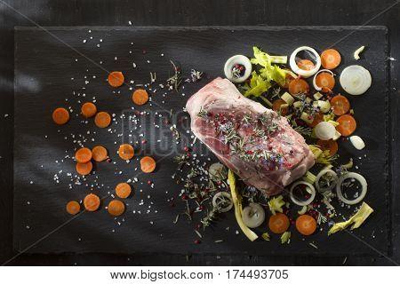 Shin Raw Pork