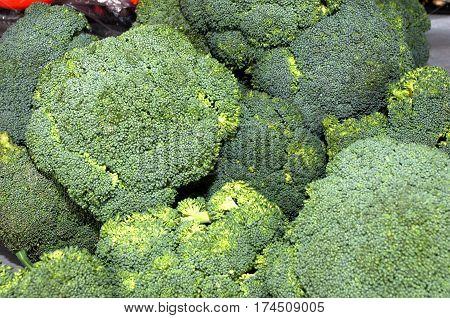A bunch of green vegetables, Novi Sad, Serbia