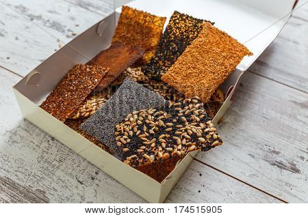 Seed Crackers In Box