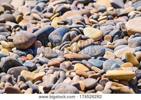 Pebble Colorful Background