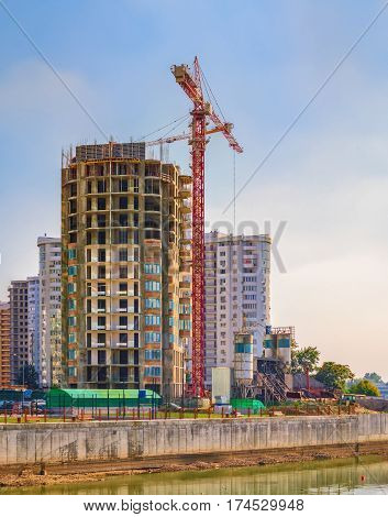 Developing High-rise Residential Building