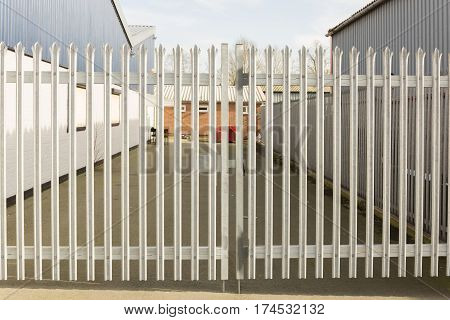 Locked Security Gates