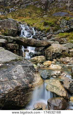 Mountain Stream Cwm Idwal