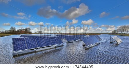 Creative Floating Solar Solution