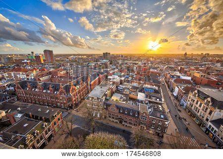 View Over Groningen City