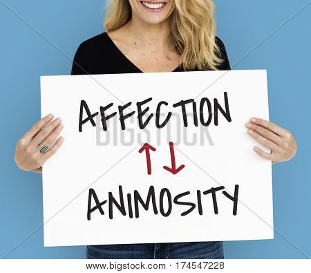 Affection Animosity Love Hate Oppsite
