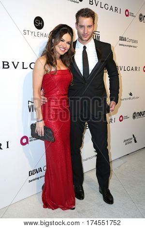 LOS ANGELES - FEB 26:  Chrishell Stause, Justin Hrtley at the 25the Annual Elton John Academy Awards Viewing Party at the  City of West Hollywood Park on February 26, 2017 in West Hollywood, CA