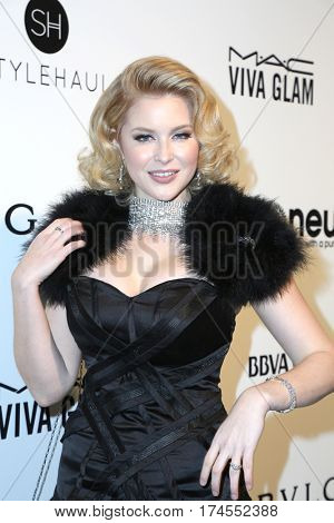 LOS ANGELES - FEB 26:  Renee Olstead at the 25the Annual Elton John Academy Awards Viewing Party at the  City of West Hollywood Park on February 26, 2017 in West Hollywood, CA