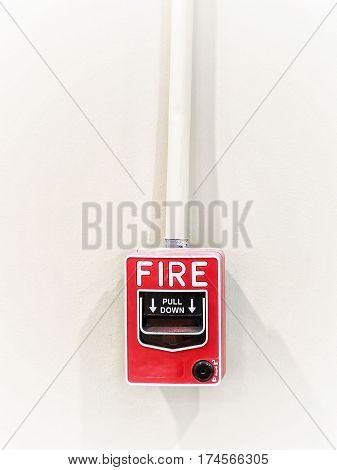 The alarm system for alerting the conflagration.