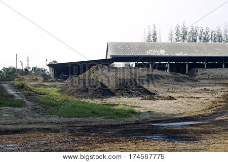 industry excavation mineral soil digging shed  digging