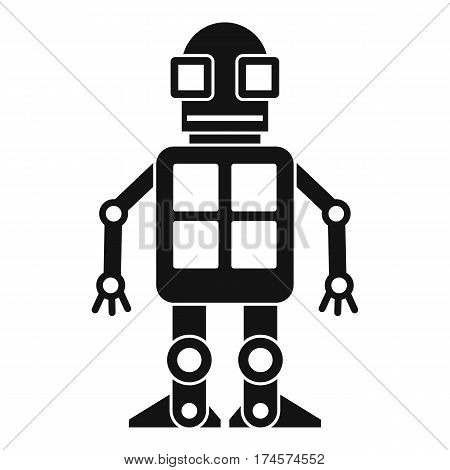 Artificial intelligence concept icon. Simple illustration of artificial intelligence concept vector icon for web