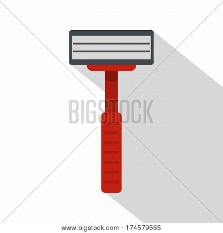 Shaver razor icon. Flat illustration of shaver razor vector icon for web isolated on white background