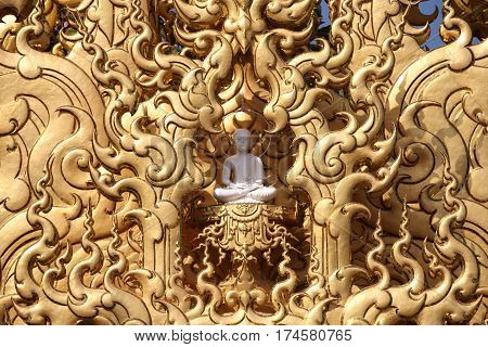 Sculpture architecture and symbols of Buddhism Thailand South East Asia
