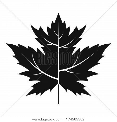 Gooseberry leaf icon. Simple illustration of gooseberry leaf vector icon for web