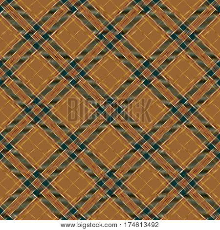 Tartan Seamless Pattern Background. Red Green Brown and Gold Plaid Tartan Flannel Shirt Patterns. Trendy Tiles Vector Illustration for Wallpapers.