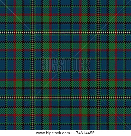 Tartan Seamless Pattern Background. Red Black Green and Blue Plaid Tartan Flannel Shirt Patterns. Trendy Tiles Vector Illustration for Wallpapers.