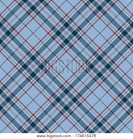 Tartan Seamless Pattern Background. Red Black Blue and White Plaid Tartan Flannel Shirt Patterns. Trendy Tiles Vector Illustration for Wallpapers.