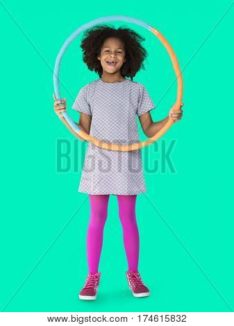 Studio Shoot People Kid Girl