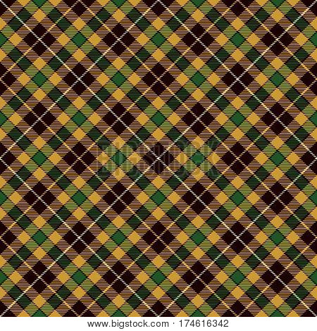 Tartan Seamless Pattern Background. Black Yellow Green and White Plaid Tartan Flannel Shirt Patterns. Trendy Tiles Vector Illustration for Wallpapers.