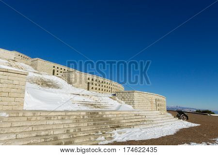 Italian Landmark. First World War Memorial