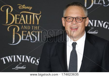 Bill Condon at the Los Angeles premiere of 'Beauty And The Beast' held at the El Capitan Theatre in Hollywood, USA on March 2, 2017.