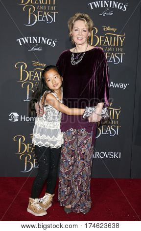 Jean Smart at the Los Angeles premiere of 'Beauty And The Beast' held at the El Capitan Theatre in Hollywood, USA on March 2, 2017.