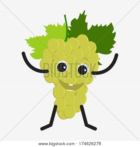 Grapes Character Icon