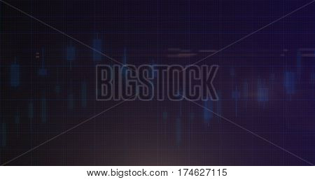 Stock market financial analysis indicator background Design