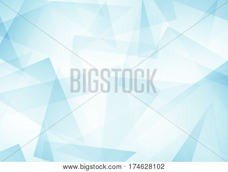 blue abstract pattern of geometric shapes Texture. Geometric background