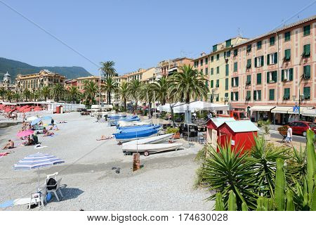 Promenade Of S.margherita Ligure