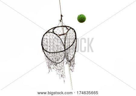 Hoop Takraw Lod Is Sport