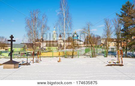 Monastery of Optina in the Kaluga region